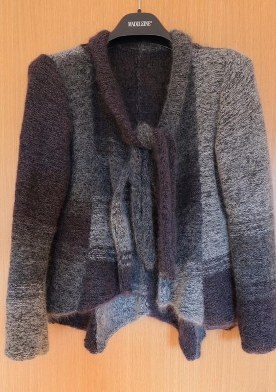 Jacke aus 200g Mohair Luxe und 200g Merino 400 Lace von Lang