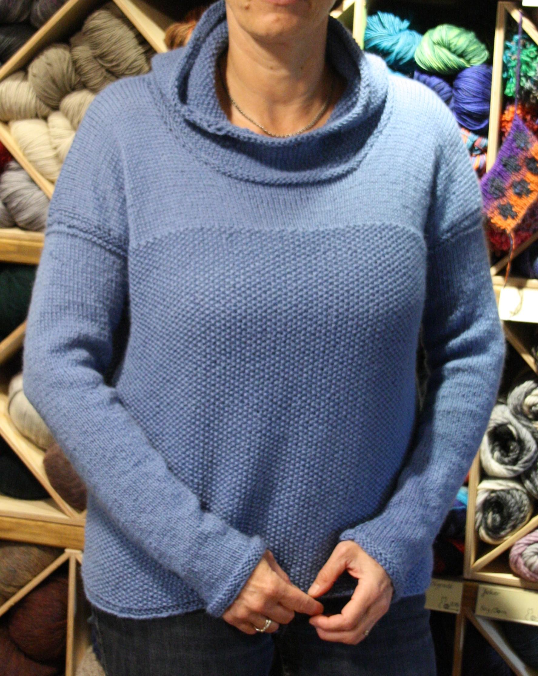 Pullover aus 600g Baby Alpaka von ggh-Garne